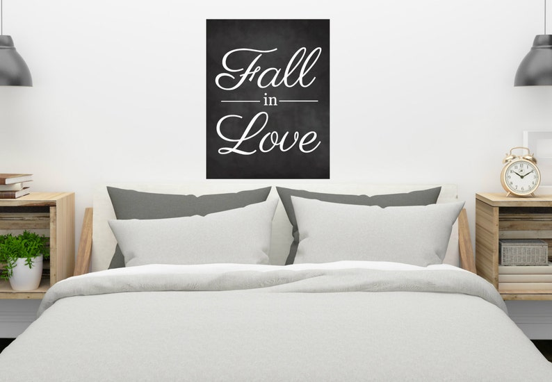Miraculous Fall In Love Quote Chalkboard Home Farmhouse Rustic Bedroom Wedding Valentines Day Wall Hanging Master Bedroom Printable Digital Download Download Free Architecture Designs Grimeyleaguecom