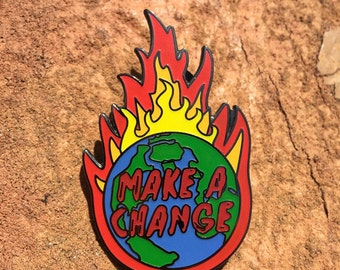 2ea075d5c08 Nahko   Medicine for the People  Make A Change  Pin