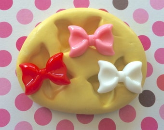 BOW Set Silicone MOLD - Resin Bow Molds, Molds, Craft Supply, Molds, Cookie Decor, Bow Mold, Polymer Clay Molds, Craft Supply, Clay Molds