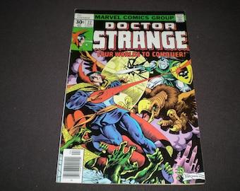 Doctor Strange 22 (1977), 1st app Queen of the Sun, Marvel Comics DE1 et