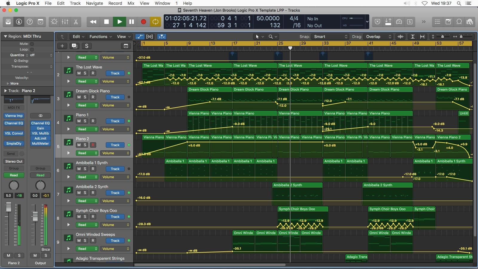 Seventh Heaven (Logic Pro X Project Download Template) Jon Brooks