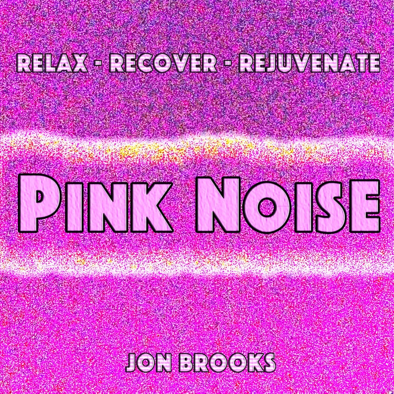 PINK NOISE CD for Sleep, Tinnitus, Anxiety, Babies and Stress