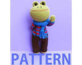Amigurumi Crochet Pattern-Frog