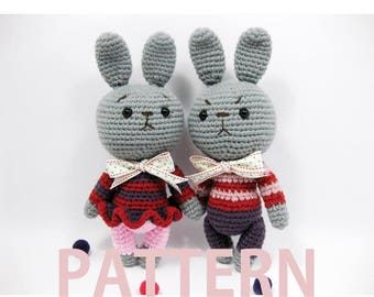 Amigurumi Crochet Pattern-Rabbit