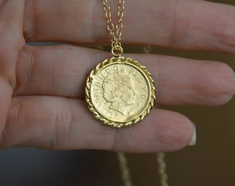 Coin necklace gold coin necklace minimalist jewelry etsy gold coin necklace gold coin pendant coin necklace antique necklace delicate gold necklace everyday gold necklace bridesmaid necklace aloadofball Choice Image