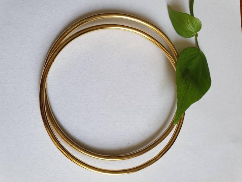 8e8ccbc6097 Gold bangle bracelet for women gold bracelet minimalist   Etsy