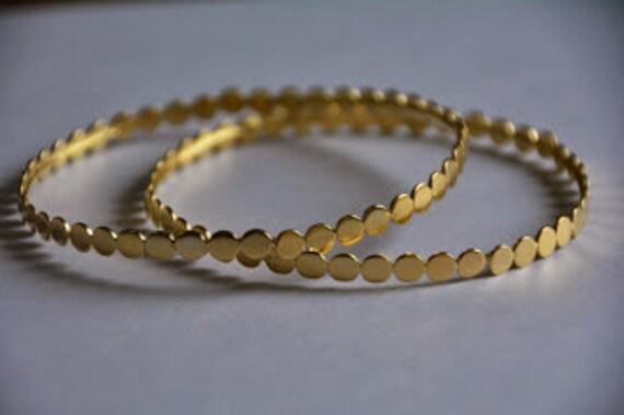 1f7fdca4d6204 Bridal hoop bracelet, vintage gold bracelet, gold bracelet bridesmaid  bracelets, bangle bracelets, gold bangles 14k, stacking bracelets gold