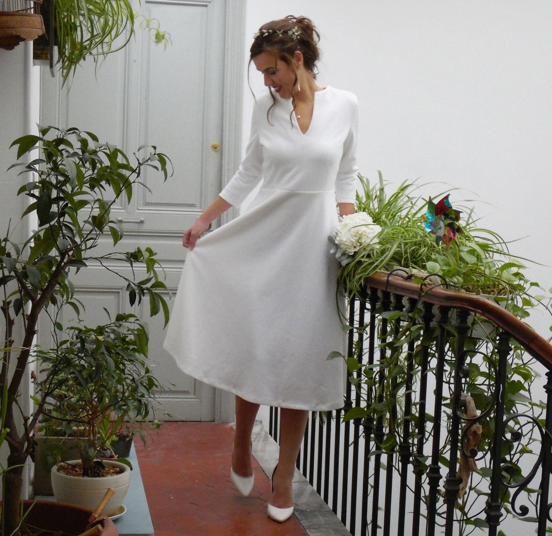 e373a048aa2 Winter wedding dress