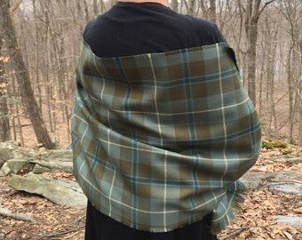 Outlander Inspired Stole/Wrap in tartan from S1E8