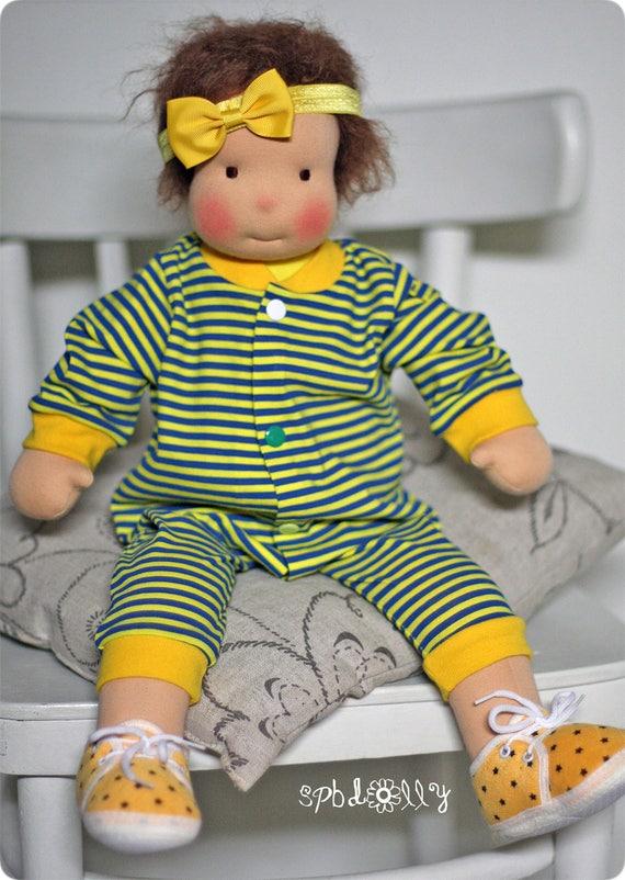 f837bc460 Big Waldorf doll Steiner Doll pattern body pattern. How to
