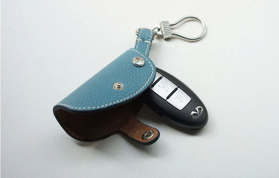 Leather Smart Key Chain Cover For McLaren 720S 570S