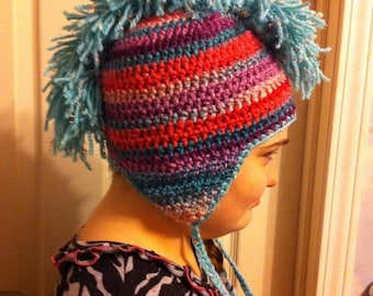 Child and Adult-sized Mohawk Hat