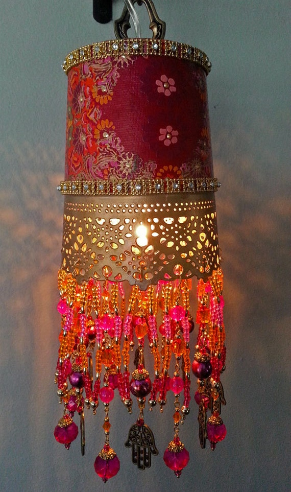 Items Similar To Passage To India Hanging Lantern On Etsy