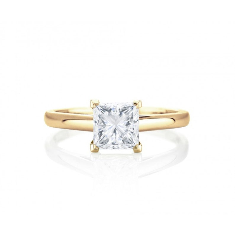 Diamond Princess/cushion Cut Semi Mount Diamonds Sterling Silver Engagement Wedding Ring Making Things Convenient For Customers