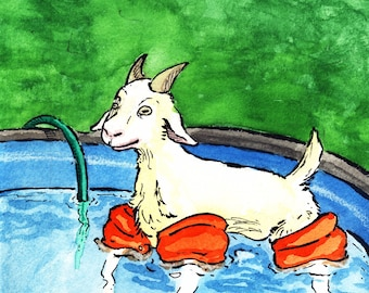 Whatever Floats Your Goat (6x9 Prints)