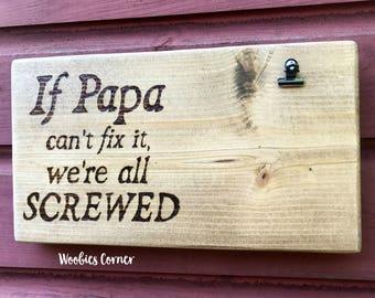 Papa Frame Etsy