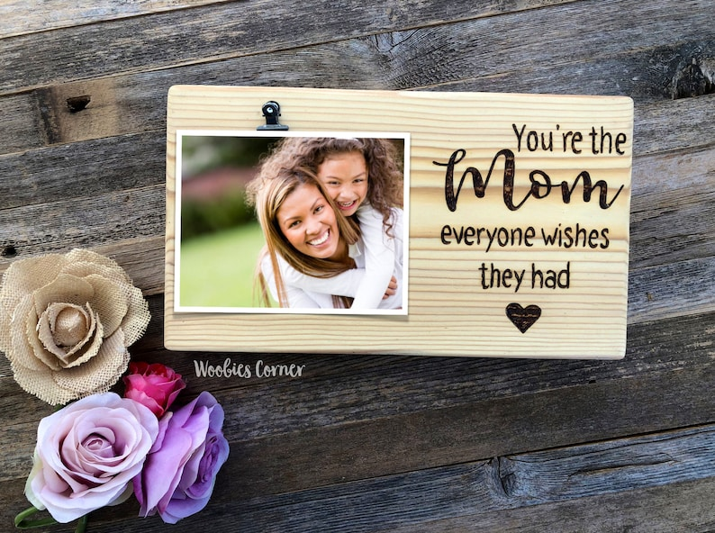 Cool Mom Gift Photo Gifts For Birthday Picture Frame Quote Custom Mothers Day