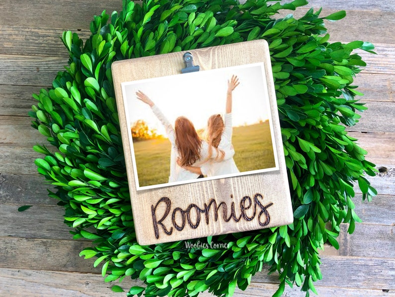 Froomies picture frame, Froomie gift, Dorm decor, College picture frame,  Best friend picture frame, Roommate picture frame, Roommate gift