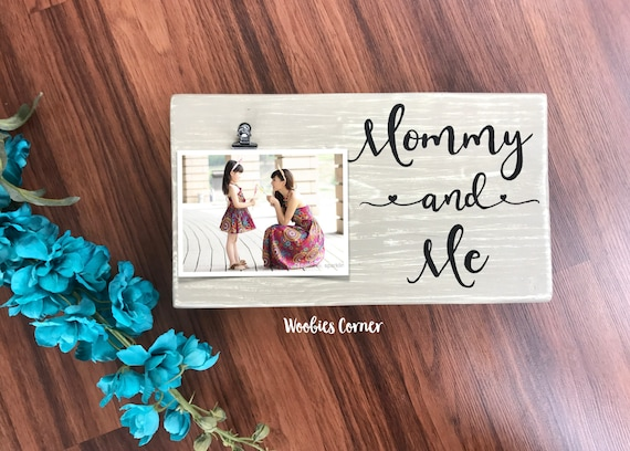 Mommy And Me Frame First Mothers Day Gift Nursery Frames Etsy