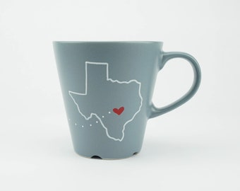 Long Distance Sister Mug with Two States or Countries. Sibling Gift. Long Distance Sister. Gift for Her Under 25. Gift for Sister
