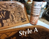 Custom Shaving kit. Shaving Bag. Travel caddy. Cosmetic Bag. Medicne bag. Monogrammed travel caddy. Tooled leather travel bag