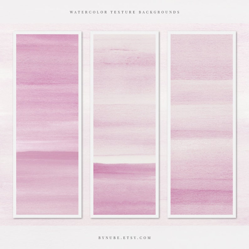 Pink Watercolor Texture Backgrounds Watercolor Digital Scrapbook Paper Invites /& Social Media Posts Hand Painted Backgrounds for Cards
