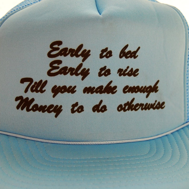 70s Vintage Snapback hat   Humor Trucker Hat   Custom Snapback  871d565ecda