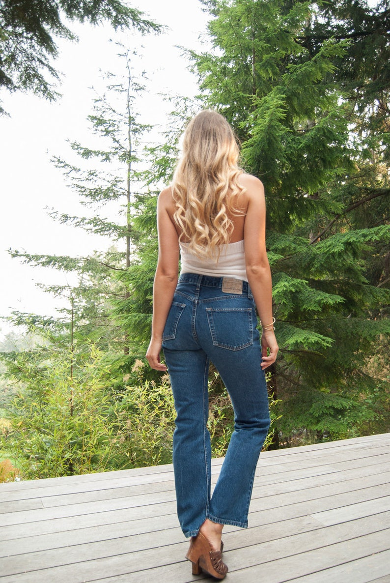 77486dd68 Vintage Abercrombie & Fitch Jeans 29 30 Waist Mid Rise Flare image 0 ...