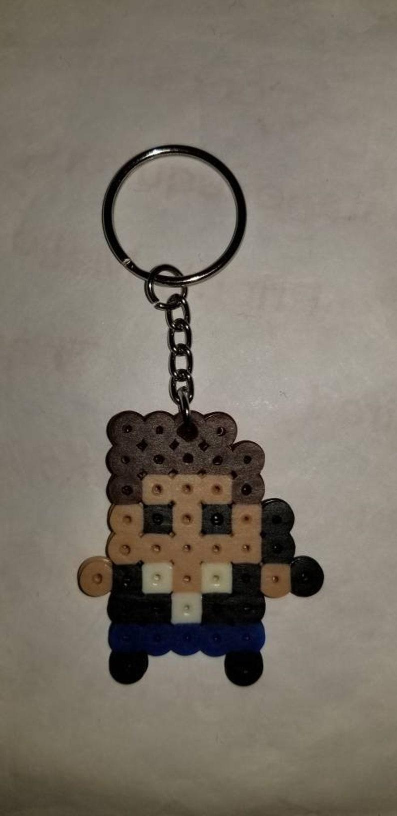 STAR WARS Hama beads keychain