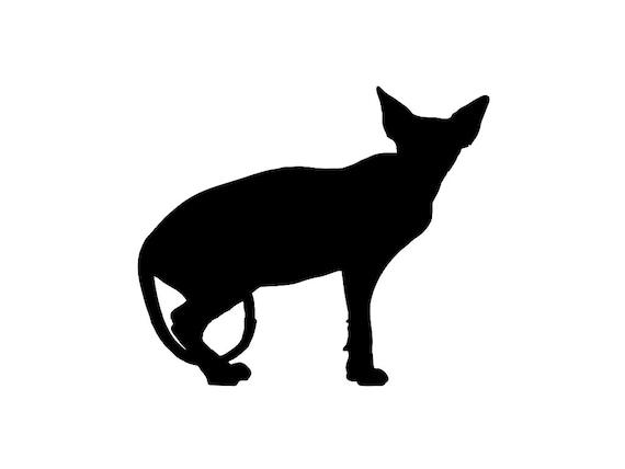 Cat Graphic Decal Sticker Car Vinyl Got Sphynx