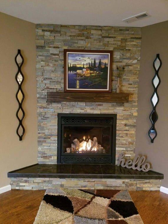 Fireplace Mantel Floating Shelf Fireplace Mantle 60 Etsy