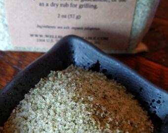 Organic Jalapeno Sea Salt