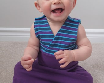 Starbright and Starlight Sleep Sack PDF Sewing Pattern Bundle for babies and toddlers with snaps