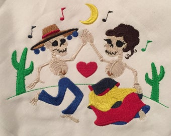 Day of the Dead Napkins