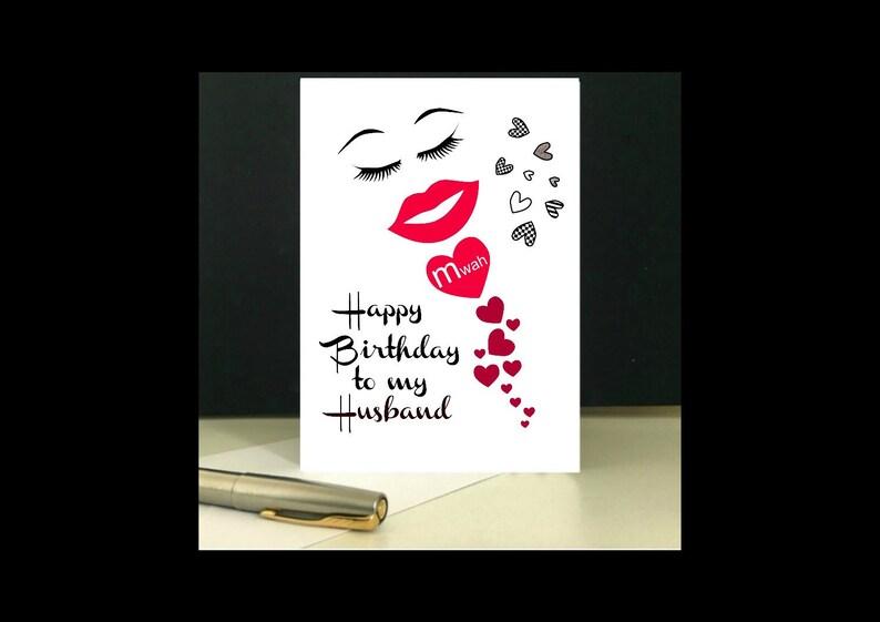 Downloadable Happy Birthday To My Husband Digital