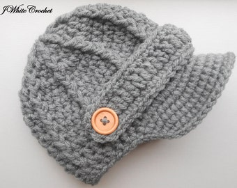 593a41cce21 Dark grey Newborn baby hat