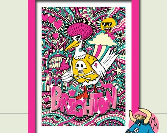 cad0eea26a Seagull Art Print