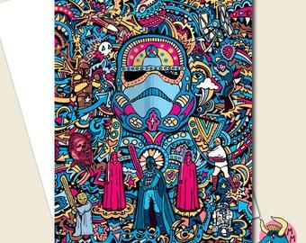 Star Wars Card, Stormtrooper Birthday Card