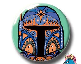Boba Fett Badge Teal. Boba Fett Pin. Star Wars Badge. Star Wars Pin. Star Wars. Pin Badge. Pin Badges. Badges. Button Badges. Pins.