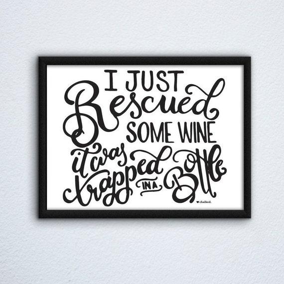 Wine Print, Printable Wall Art Print, Printable Art, Digital Download, Poster, Digital Print, Funny Wine Decor, Home Decor