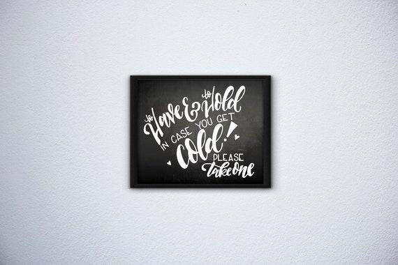 Wedding Blanket Sign, Wedding Sign, Wedding decor, Wedding chalkboard