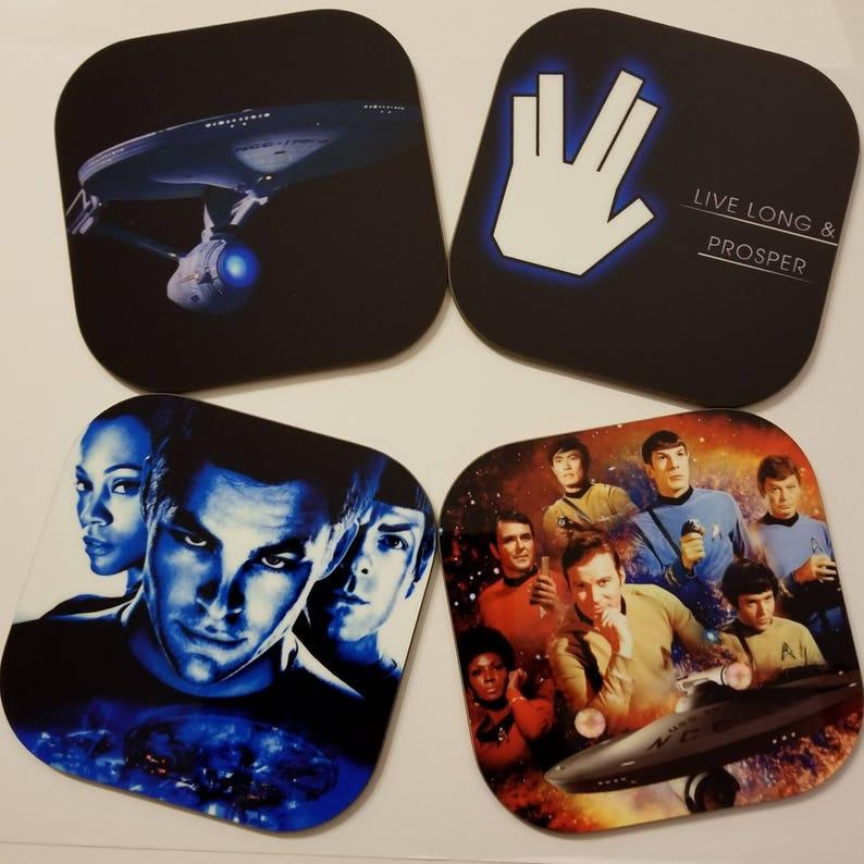 Star Trek-monedero-Capitán Spock-live long and Prosper