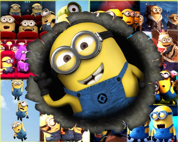 One Minion 11x14 Canvas Wall Decor/Wall Art Kids Bedroom Wall Decorations  Two Options