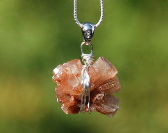 Aragonite Crystal necklace