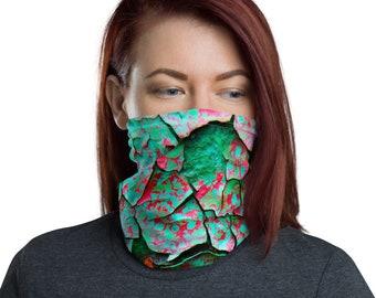 Train Wreath Texture Face Cover
