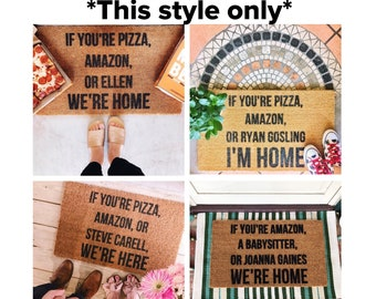 2951b9dacb44a ANNOUNCEMENT New low price on all doormats by ShopJosieB on Etsy