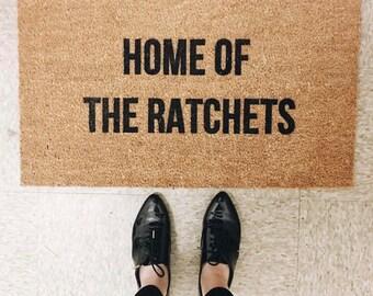 Ratchets Doormat- Funny Doormat- Doormats - Shop Josie B- Welcome Mat- Custom Doormat