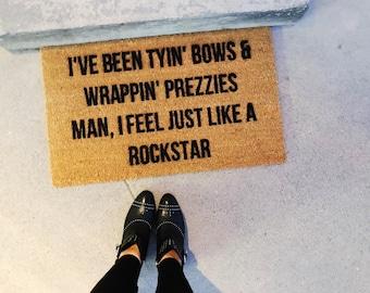 Post Malone Inspired-door mat-door mats-custom door mat-welcome mat-cute welcome mat-cute door mat-personalized doormat-shop josie b