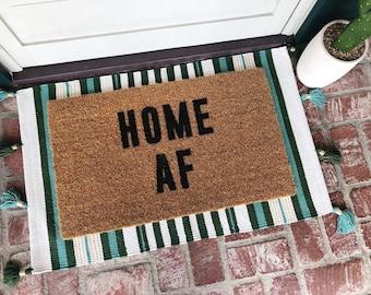 HOME AF-door mat-door mats-custom door mat-welcome mat-cute welcome mat-cute door mat-personalized doormat-shop josie b