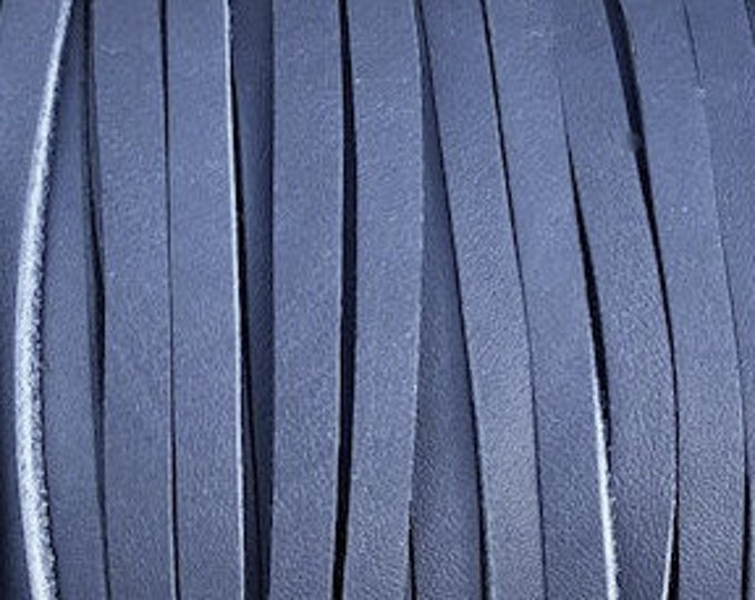 3mm Deertan Lace Blue Color 1 Yard Blue Deertan